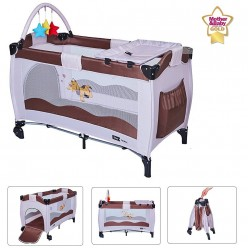 Cuna de viaje plegable Star Ibaby Sleep & Play