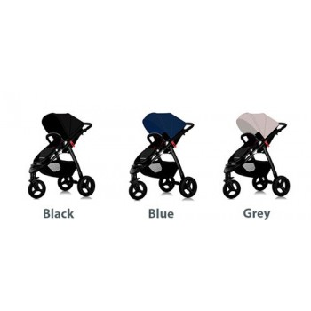Star Ibaby One All Road Cochecito de Bebe 3 Ruedas