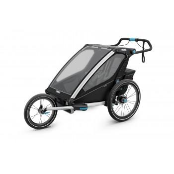 thule carrito multifuncional chariot sport doble color negro