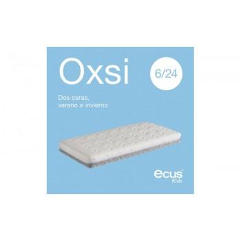 Ecus Colchón de cuna antiahogo Oxsi