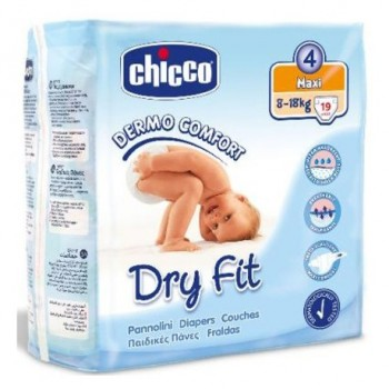 Pañales Chicco Dry Fit T4 Maxi