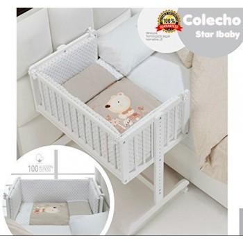 Minicuna Colecho Madera completa Star Ibaby