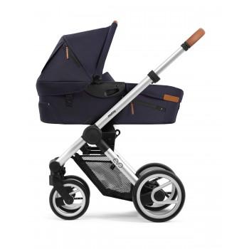 mutsy cochecito de bebé duo EVO Urban nomad edition colores deep navy y light grey