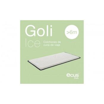 Ecus Colchón cuna de viaje  Goli Ice