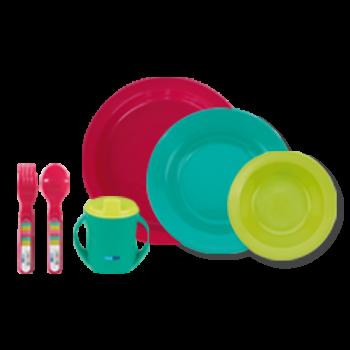 Bebedue vajilla 6 piezas  Colours & Flavours