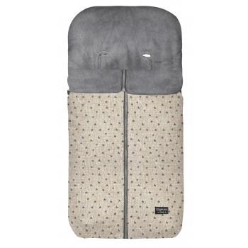 Pirulos saco silla invierno denim estampados microcoralina