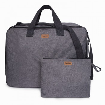 Tuc tuc maleta de viaje pop up basic gris