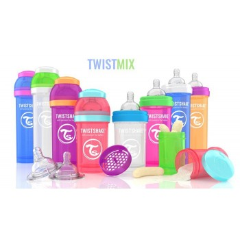 Twistshake pack 2 biberones anticolico 260ML