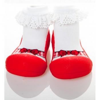 Attipas Zapatos Ballet Rojas