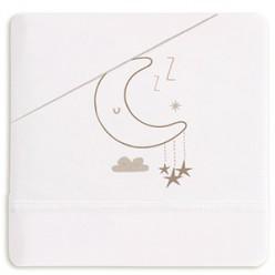 Casual organic juego de sábanas sweet night, minicuna 50x80