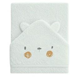 Pirulos maxicapa de baño conejito cara
