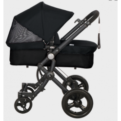 Baby ace 042 duo black + base black + vestimenta y capota fresh