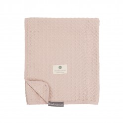 Bimbi casual manta crochet 100% algodon organico