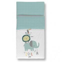 Pirulos saco nórdico+ funda almohada maxicuna Cool Zoo