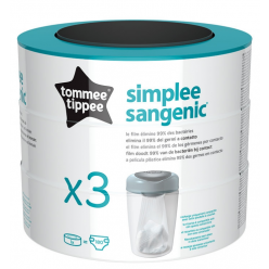 Tommee tippee recambio sangenic simplee x3