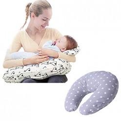 Star Ibaby Cojin de lactancia y embarazo con almohada
