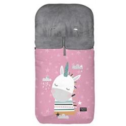 Bimbi dreams saco de invierno estampado unicornio