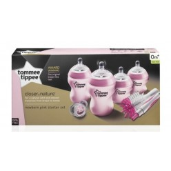 Tommee Tippee Kit Recién Nacido Closer To Nature color rosa