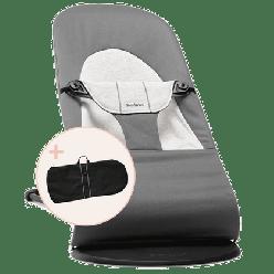 Babybjorn Pack Hamaca Soft  Algodon Jersey con bolsa de transporte