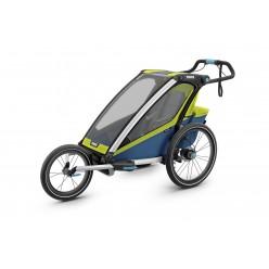 Thule carrito multifuncional chariot sport individual colores azul y verde