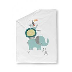 Pirulos funda nórdica+relleno minicuna Cool Zoo