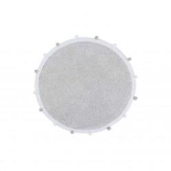 Lorena canals alfombra lavable Bubbly gris claro 120cm