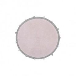 Lorena canals alfombra lavable Bubbly rosa claro 120cm