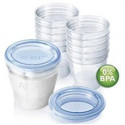 AVENT SET BOTES VIA PARA LECHE MATERNAL