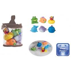 Bo jungle juego animales de baño- 6 piezas