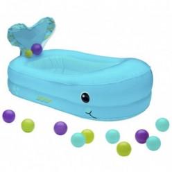 infantino bañera hinchable con bolas