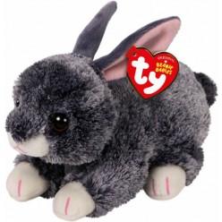 Beanie boo´s conejo Smokey gris 15cm