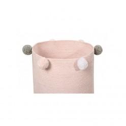 Lorena canals cesta juguetes Bubbly rosa