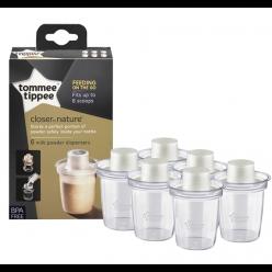 Tommee tippee 6 Dosificadores de leche en polvo
