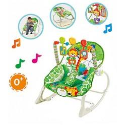 Hamaca para bebé 3 en 1 con música y vibración Star Ibaby Cici