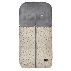Pirulos saco silla invierno denim estampados microcoralina con velour
