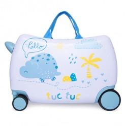 Tuc tuc maleta trolley de viaje hello dinos