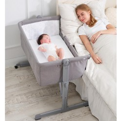 Minicuna Colecho, regulable 6 alturas, reclinable Star Ibaby