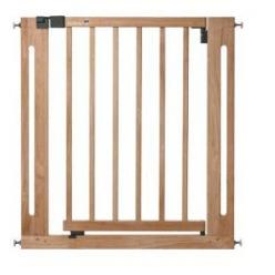Safety barrera easy close wood