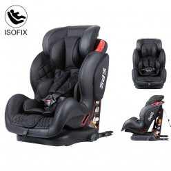 Silla de coche Isofix SPS Reclinable Star Ibaby SPS, Grupo 1 2 3 (9-36 kg)