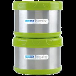 Bebedue termo Porta Alimentos 2 x 500 cc Termaline