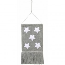 Lorena canals colgante pared stars gris