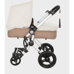 BABY ACE duo silver arena white piel ecológica