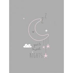 Casual organic lámina luna sweet night