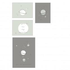 Bimbi casual laminas decoración colección planet
