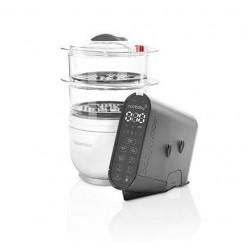 Babymoov Robot culinario batidora y vaporera Nutribaby(+) - ahora con vajilla de regalo!