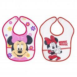 Interbaby pack 2 baberos PEVA colección disney- Minnie