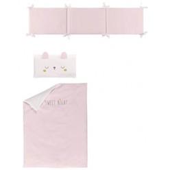Chic Set de funda nórdica con relleno + funda almohada + protector dulces sueños