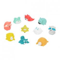 Badabulle Juguetes de baño Rigolos Splash - Montaña x10