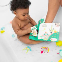 Badabulle Libro de baño desplegable