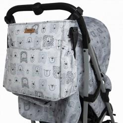 tuc tuc bolso silla paraguas weekend bears gris